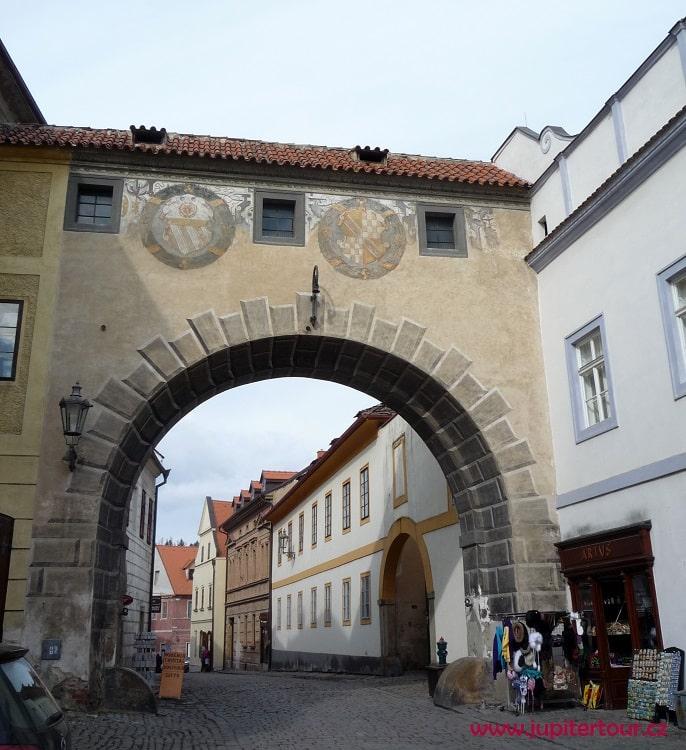 Крытая галерея, Чешский Крумлов