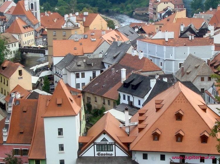 Панорама Чешского Крумлова