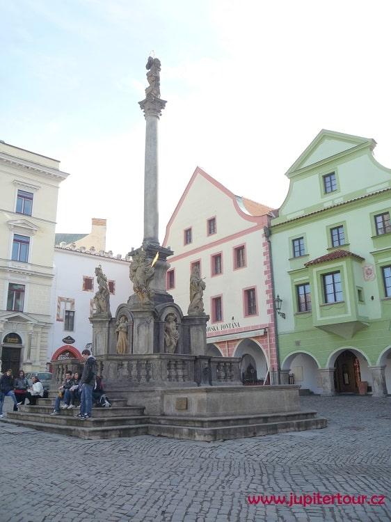 Главная площадь, Чешский Крумлов