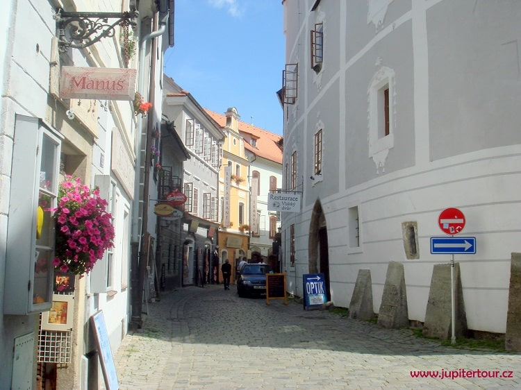 Улица Длоуга, Чешский Крумлов