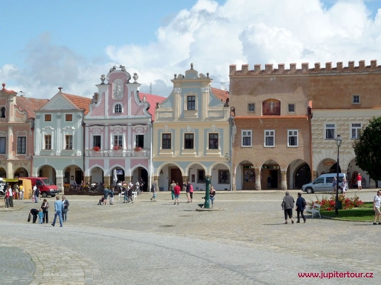 Площадь Захария из Градце, Телч