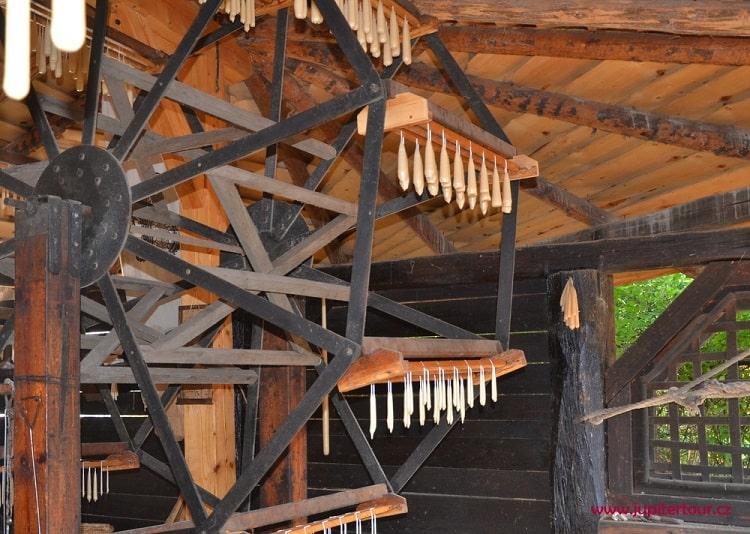 Средневековые свечи, историческая деревня ремесел Остра