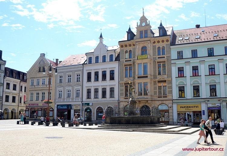 Главная площадь, Либерец