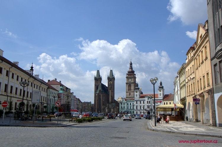 Главная площадь, Градец Кралове
