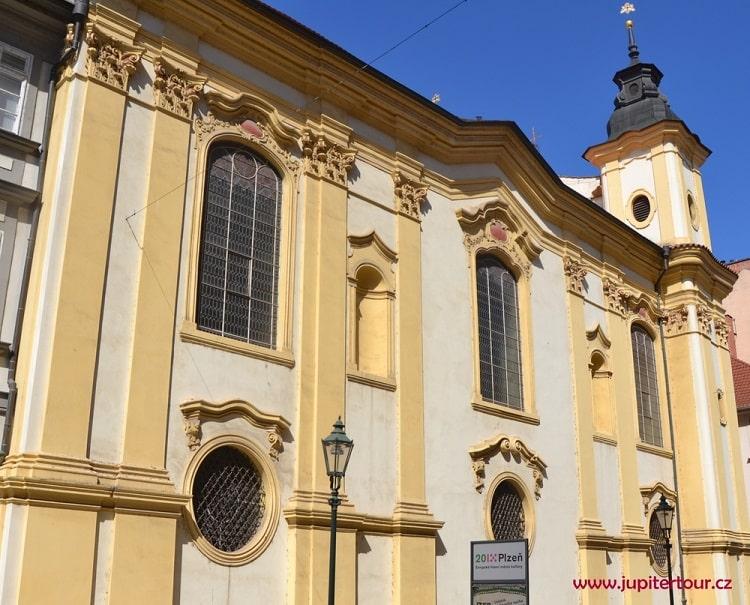 Костел святой Анны, Плзень