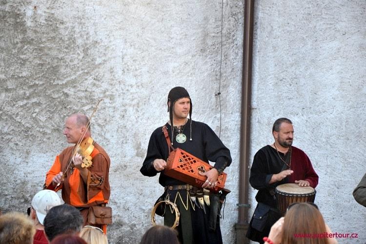Музыканты, Чешские Будейовицы
