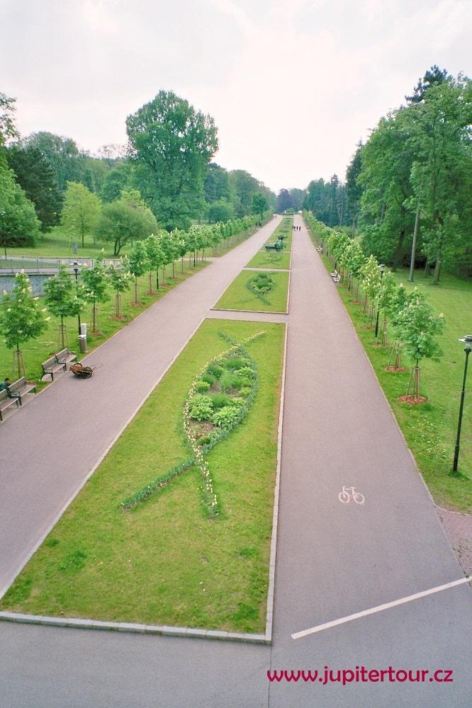 Парк, Оломоуц, Чехия