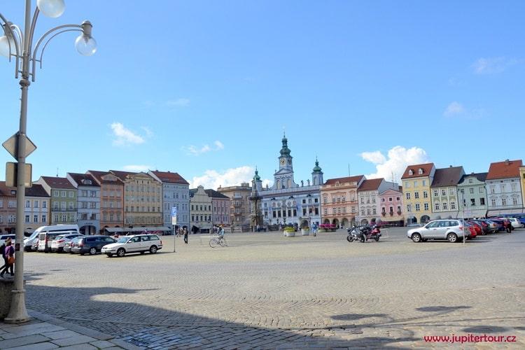 Площадь Пршемысла Отакара II, Чешский Будейовице