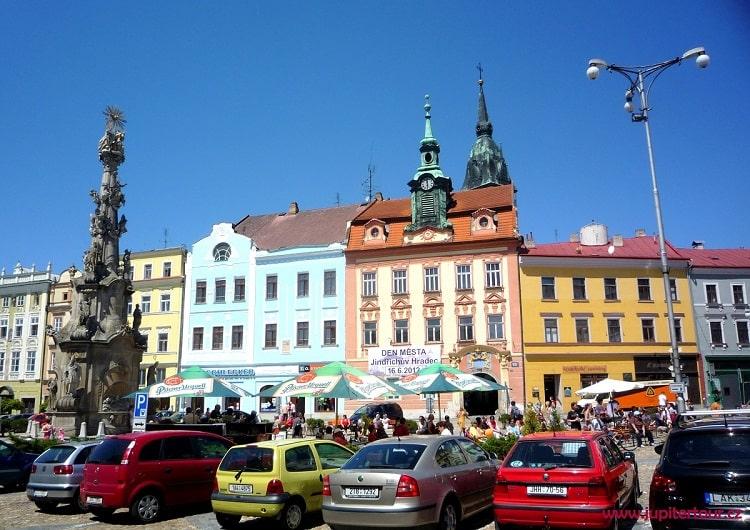 Площадь Мира, Йиндржихув Градец, Чехия