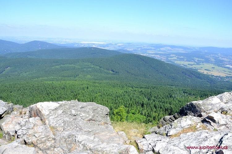 Панорама, Йештед, Либерец, Чехия