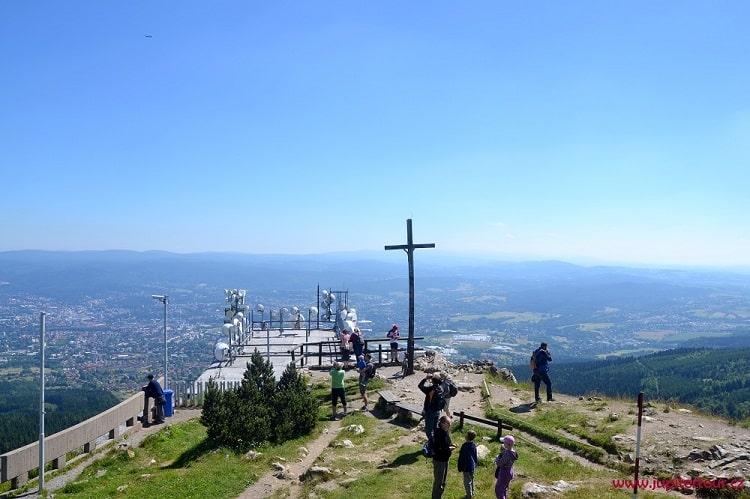 Панорамная площадка, Йештед, Либерец, Чехия