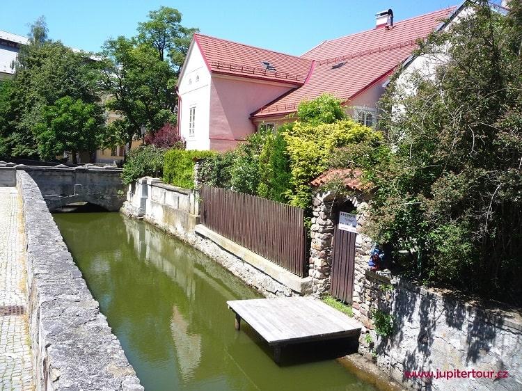 Маленькая Венеция, Йиндржихув Градец, Чехия