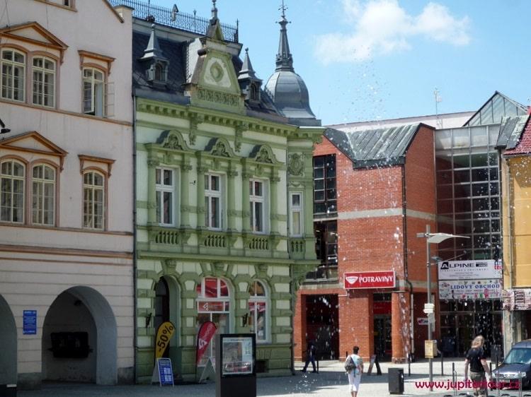 Городская площадь, Фридлант