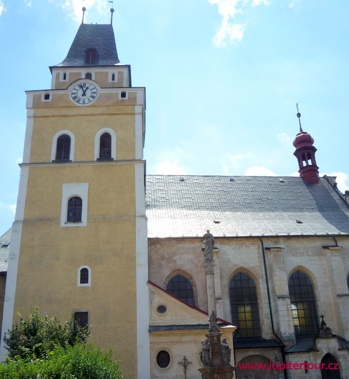 Храм святого Креста, Фридлант