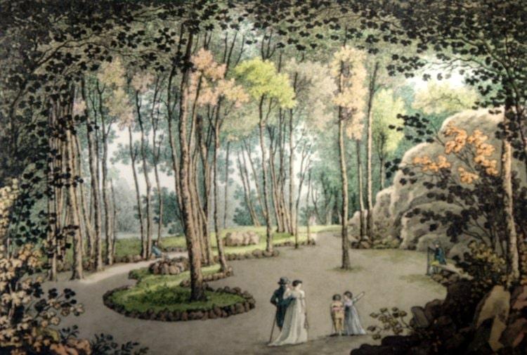 История парка Влашим