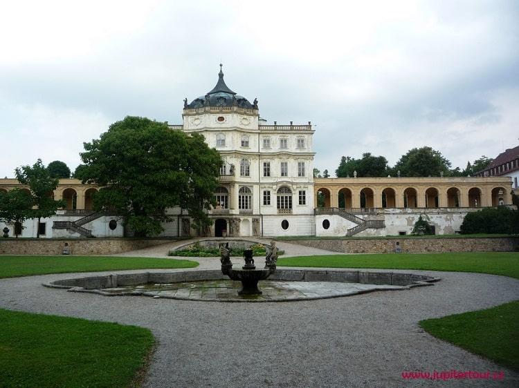 Интерьер, замок Плосковице