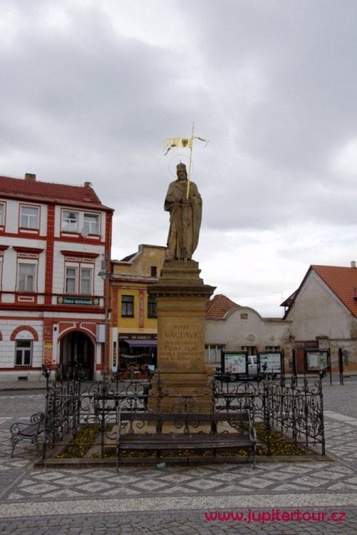 Скульптура святого Вацлава, Стара Болеслав