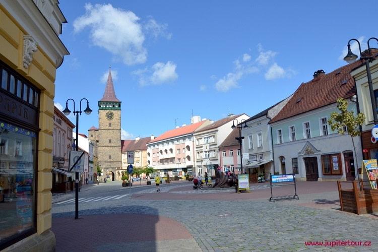 Йичин, Чехия