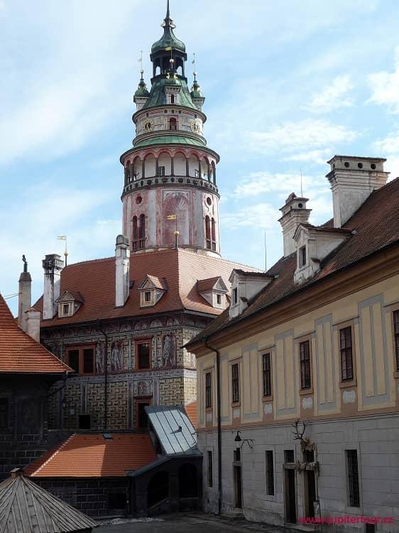 Замок Чешский Комплекс Градека с замковой башней, Чешский Крумлов