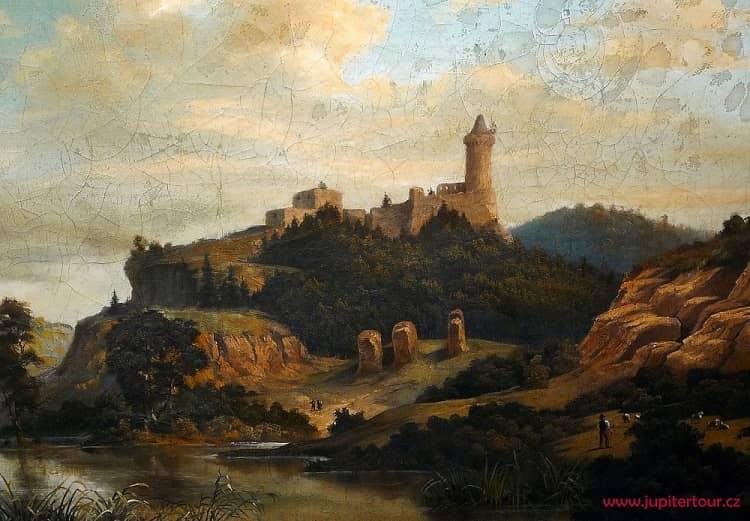 Замок Кокоржин картина
