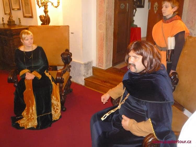 Король Иржи из Подебрад, Рыцарский зал, Чешский Штернберг