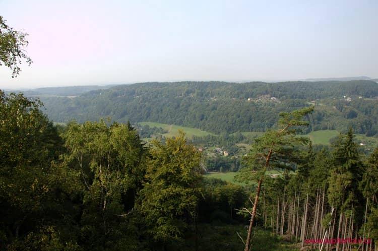 Ущелье, Беседицкие скалы, Чешский рай