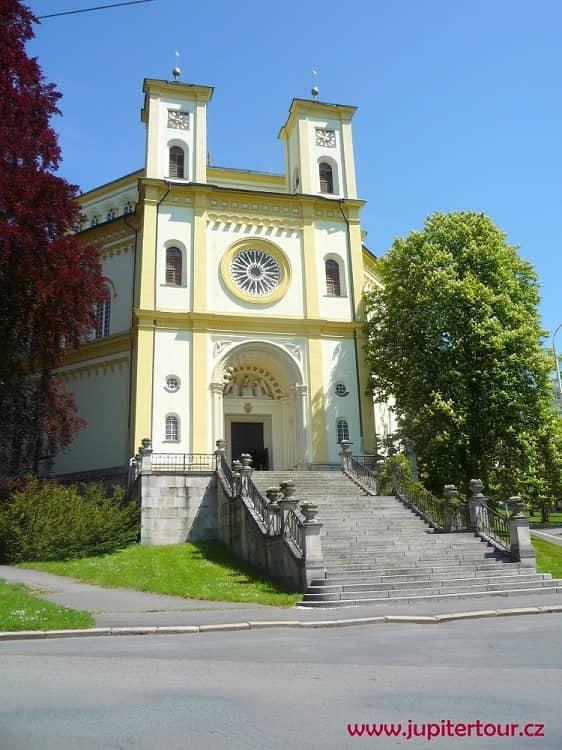 Костел Вознесения Девы Марии, Марианские Лазне