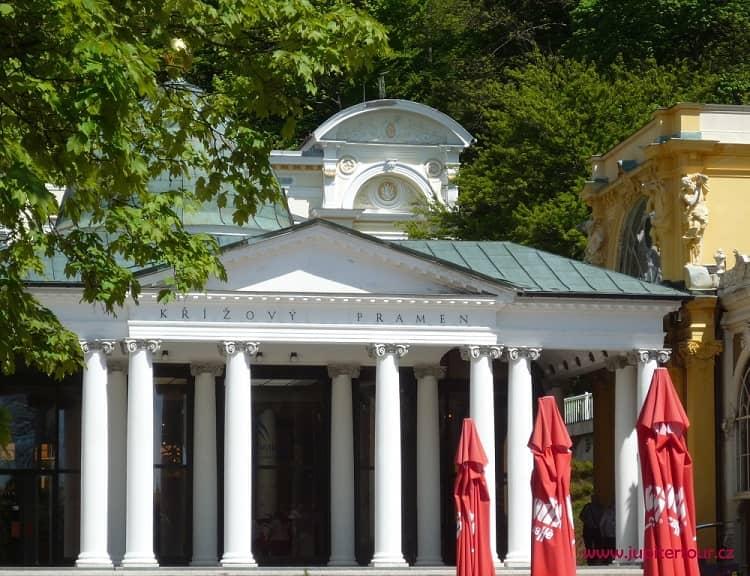 Павильон Крестового источника, Марианские Лазне