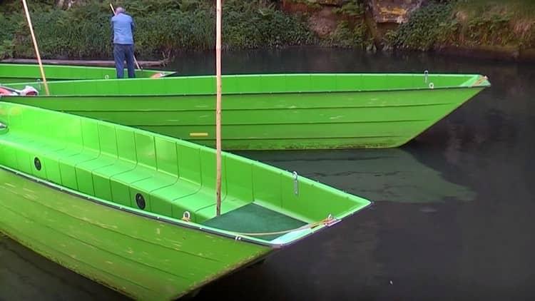 Лодки, Чешская Швейцария