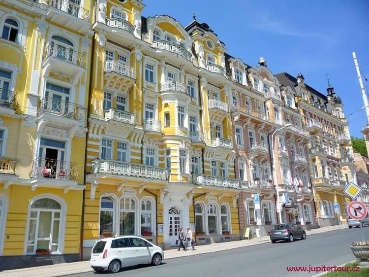 Марианские Лазне, чешский курорт