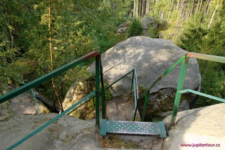 Площадка Франтишка Кинского, Беседицкие скалы, Чешский рай