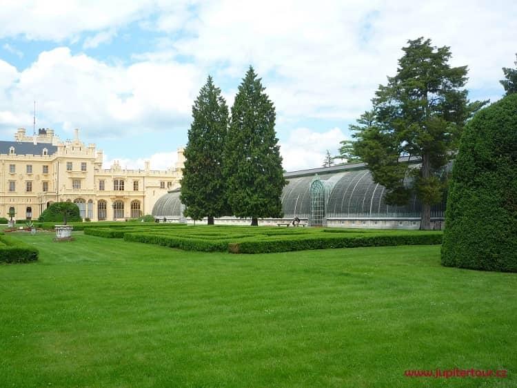 Оранжерея, замок Леднице, Чехия