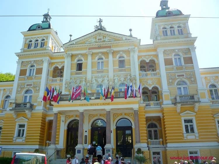 Отель Новые Лазне, Марианские Лазне
