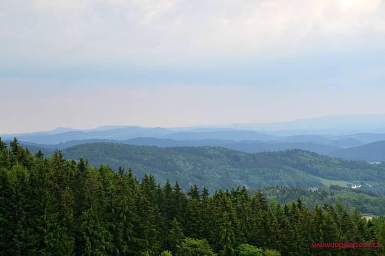 Панорама, Янские Лазне, Чехия
