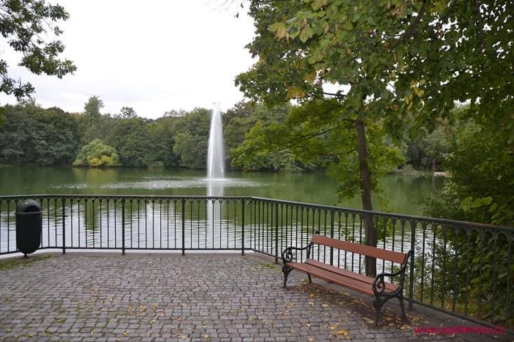 Замковый парк, Теплице