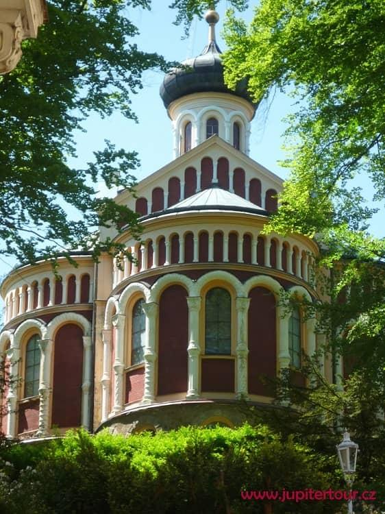 Православный храм святого Владимира, Марианские Лазне