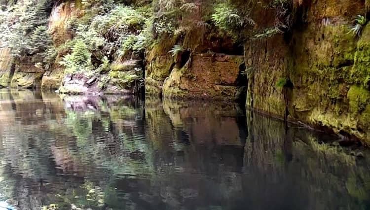 Эдмундув каньон, Чешская Швейцария
