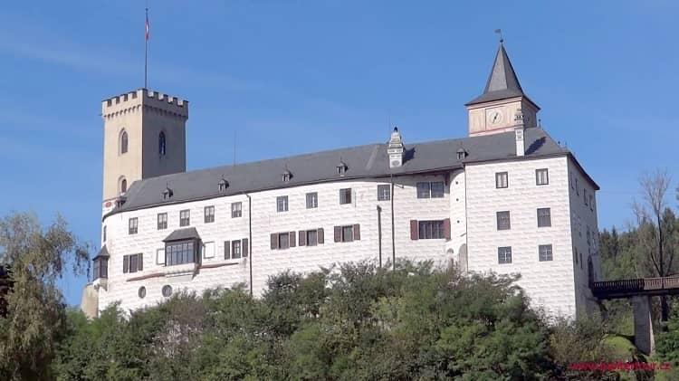 Замок Рожмберк над Влтавой, Чехия