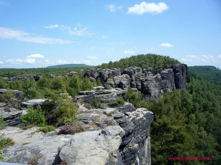Крушные горы, Тиские стены