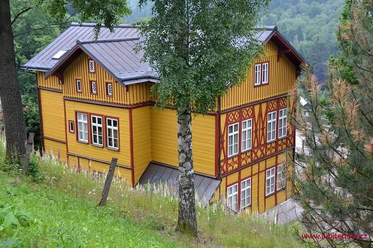Вила, Янские Лазне, Чехия