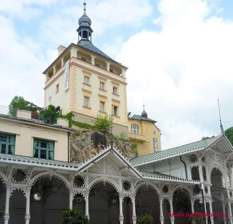 Башня бывшего замка, Карловы Вары