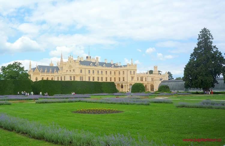 Замок Леднице, Чехия