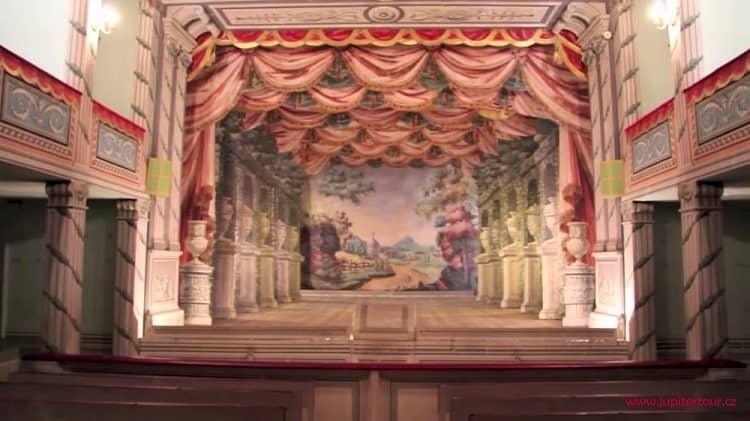 Барочный театр, Замок Литомышль, Чехия