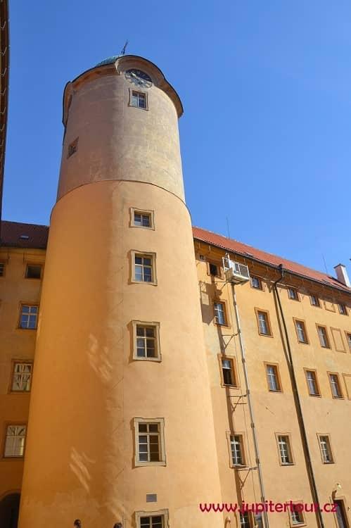 Башня, замок Подебрады