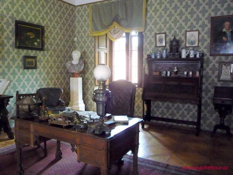 Кабинет, замок Сихров, замки Чехии