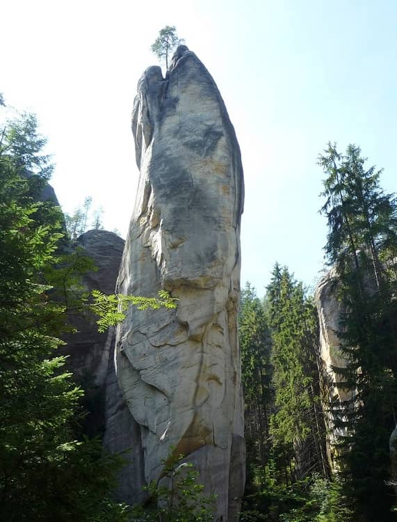 Адршпарские скалы, Чехия