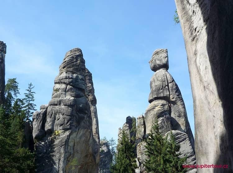 Староста, Адршпарские скалы, Чехия