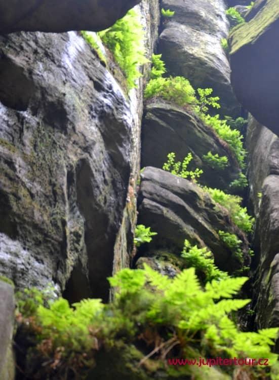 Балконы, Теплицские скалы