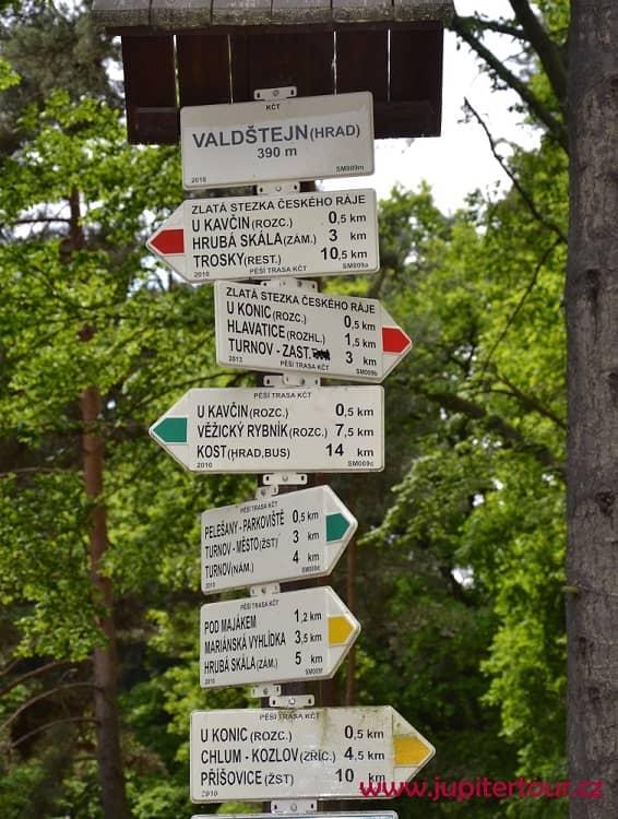 Маркировка, Чешский рай, Чехия