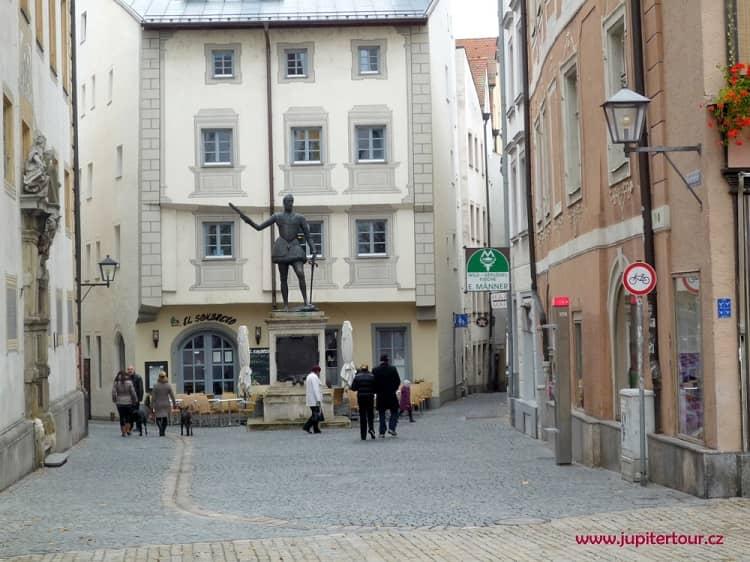 Скульптура Дон Хуана, Регенсбург
